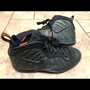 Nike Little Posite Pro GS Sequoia Size 6.5Y Womens